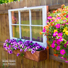 Diy Flower Box Window For The Fence Mama Needs A Project