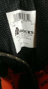 rocky boots 944 wildcat 500 grams