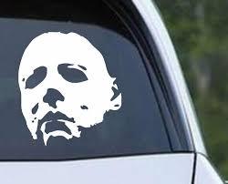 Michael Myers Halloween C Die Cut Vinyl Decal Sticker Decals City