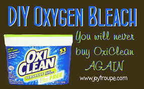 never oxi clean again with this