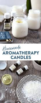 homemade aromatherapy candles the