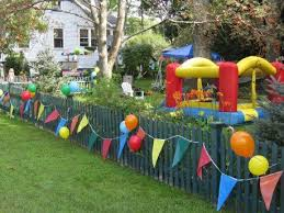 Decorate Fence In Backyard But Better Carnival Birthday Parties Carnival Birthday Carnival Birthday Party Theme