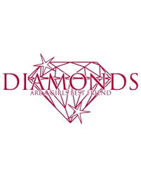 Check Out Some Sweet Savings On Diamonds Wall Decal Red 47 X24