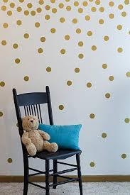 com gold wall decal dots 200