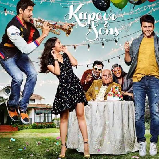 """Best Bollywood Movies kapoor and sons"""""""