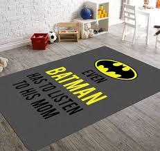 Batman Rug Batman Room Decor Childrens Rugs Batman Nursery Batman Room Batman Room Decor Batman Nursery
