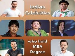 never knew had an mba degree