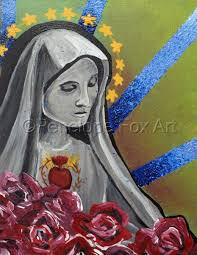Paintings: Virgin by Penelope Fox Art