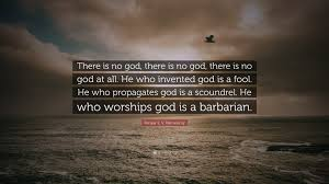 """periyar e v ramasamy quote """"there is no god there is no god"""