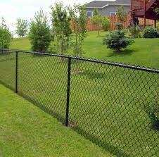 Fences 101 Fence Landscaping Black Chain Link Fence Fence Styles
