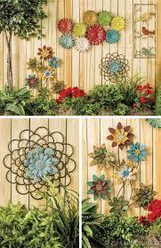 20 Best Decorative Outdoor Metal Wall Art Wall Art Ideas Garden Wall Decor Fence Art Fence Decor