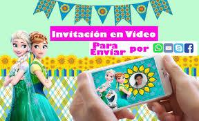 Invitaciones Virtuales Gratis Frozen Logdrawing