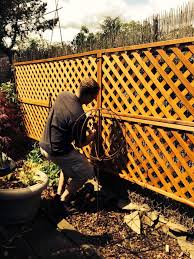 Adding Lattice For Privacy To A Chain Link Fence Using Zip Ties So Simple Https Peakfencing Com Backyard Fences Backyard Chain Link Fence Cover