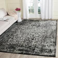 safavieh evoke black gray 8 ft x 10 ft