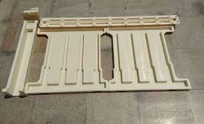 Abs Plastic Concrete Fence Post Moulds For High Bridge And High Speed Rail Side Fence