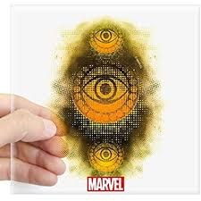 Cafepress Doctor Strange Symbol Square Sticker 3 X 3 Square Bumper Sticker Car Decal 3 X3 Small Or 5 X5 L Weird Gifts Doctor Strange Bumper Stickers