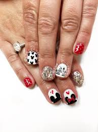 Mickey Mouse, Minnie mouse, Disneyland nails. #PreciousPhan ...