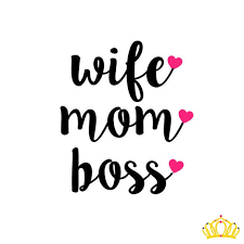 Wife Mom Boss Decal Mom Decal Tumbler Decal For Mom Yeti Decal For Woman Mom Car Decal Mom Yeti Decal Mom Tumbl Mom Quotes Girl Boss Quotes Wife Mom Boss