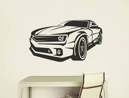Ford Mustang Wall Sticker Free Application Tool