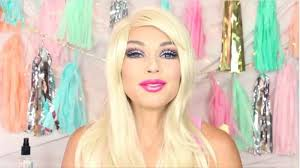 barbie doll makeup tutorial for