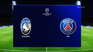 PES 2020 - Atalanta vs PSG - 1st leg UEFA Champions League 1/4 ...