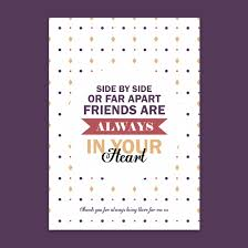 personalised sentimental quote friendship print me a gift