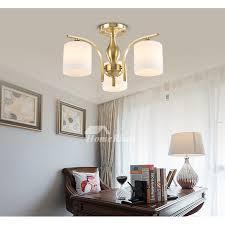 semi flush living room multi light h65