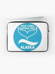 Kenai Fjords National Park Alaska Whale Travel Decal Sticker Laptop Sleeve By Melikeytees Redbubble