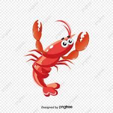 Cute Cartoon Lobster, Cartoon Vector ...