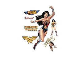 Fathead Wonder Woman Action Wall Decal Newegg Com