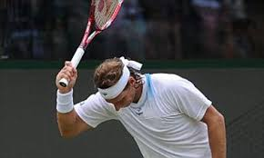 David Nalbandian has gone chaps, so you can put away the shinpads ...
