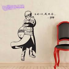 Gaara Naruto Wall Decal Vinyl Wall Stickers Decal Decor Home Decorative Decoration Anime Naruto Car Sticker Mural Sticker Vinyl Wall Decalsdecoration Murale Aliexpress