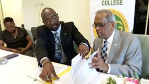 Director Of SVGCC Calls MOU With USC A Perfect Blend
