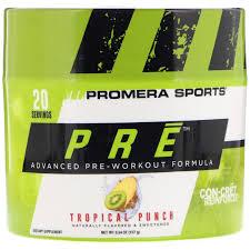 pre workout formula tropical punch