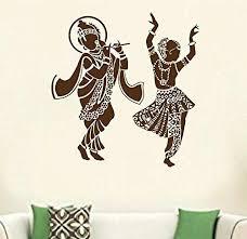 Vinyl Wall Decal Krishna Hinduism God India Hindu Stickers Mural Ig3789 Home Garden Decor Decals Stickers Vinyl Art Ayianapatriathlon Com