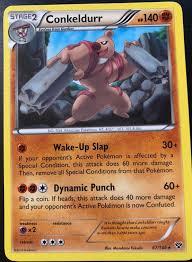 66/146 Uncommon Pokemon XY Base Set M/NM English x4 Gurdurr Pokémon  Individual Cards