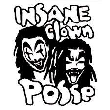 Insane Clown Posse Decal Insane Clown Posse Thriftysigns