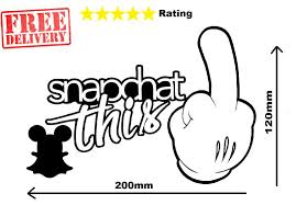 Snapchat This Small Jdm Drift Euro Funny Vinyl Decal Car Sticker Disney Unbranded Funny Vinyl Decals Car Decals Vinyl Vinyl Decals