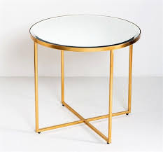 interlude marissa side table antique