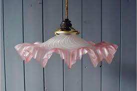 antique blown glass pendant lights