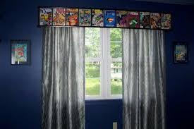 Comic Curtains Superhero Room Avengers Room Marvel Room