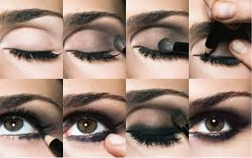 perfect step by step smokey eyes using