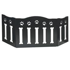Wooden Paws And Bones Pet Dog Gate Free Standing Tri Fold 19 Tall 47 Wide 84358049805 Ebay