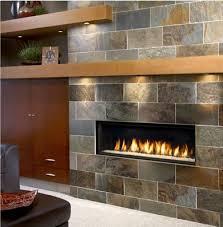 gas fireplace mantel lights small