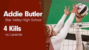 4 Kills vs Laramie - Addie Butler highlights - Hudl