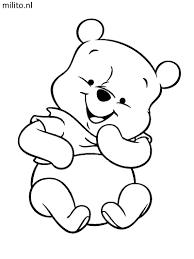 Kleurplaat Winnie The Pooh De Mooiste Kleurplaten Milito Nl