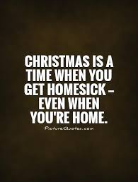 christmas is a time when you get homesick even when picture