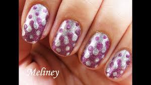 easy nail art tutorial retro dots