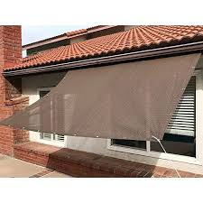 sun shade mesh canopy awning privacy