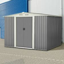 6 x 8 outdoor storage shed tool house